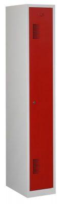 Premium garderobekast 30cm breed, 1-koloms, 1-deurs.