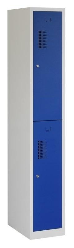 Premium garderobekast 30cm breed, 1-koloms, 2-deurs.