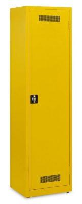 Werkplaatskast 195x53x45cm.