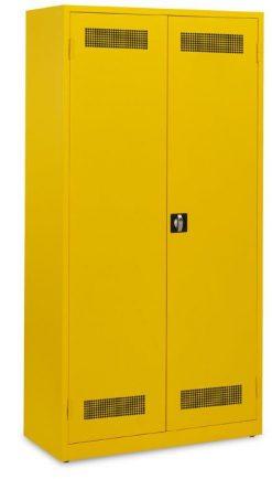 Werkplaatskast 195x100x45cm.