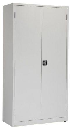 Werkplaatskast 195x100x45cm. lichtgrijs