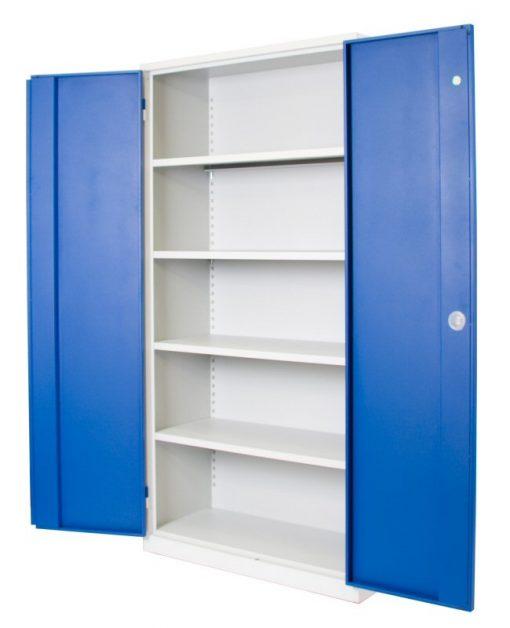 Werkplaatskast 195x100x45cm. open