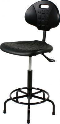 Werkstoel TEZ200 zwart