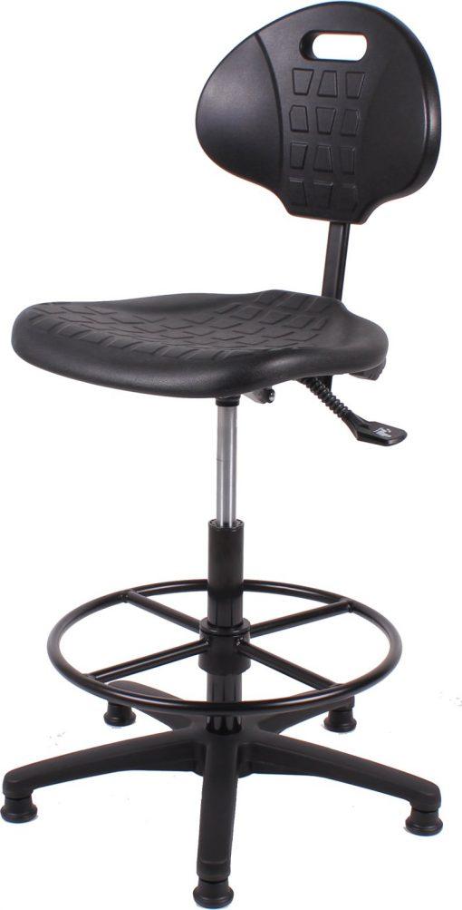 Werkstoel TEZ267 zwart