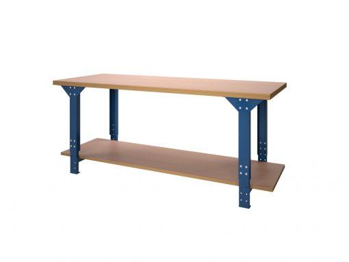 Werktafel BL serie met onderlegbord