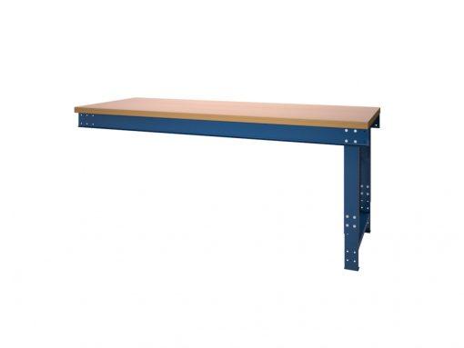 Werktafel BL serie met liggers aanbouw