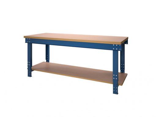 Werktafel BL serie met liggers en onderlegbord