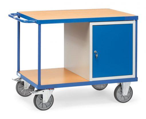 Werkplaatswagen met 1 deur