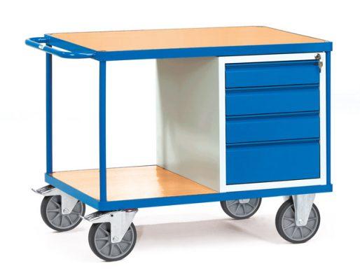 Werkplaatswagen met 4 laden