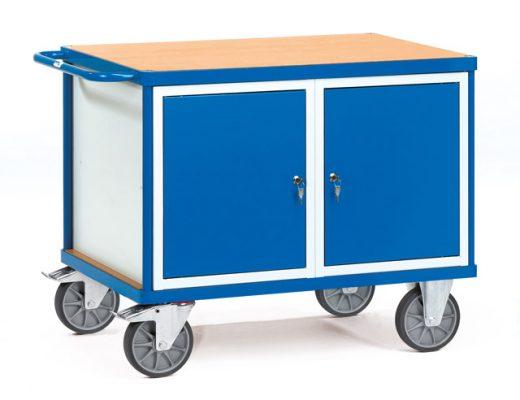 Werkplaatswagen met 2 deuren