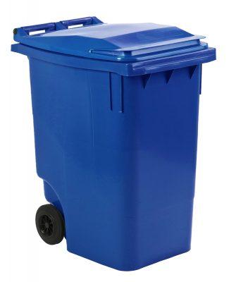 mini-container 360 liter kleur blauw